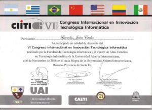 certificado 010