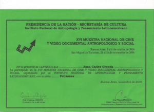 certificado 012